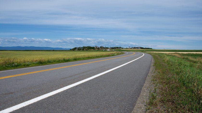 Québec à Gaspé en cyclotourisme